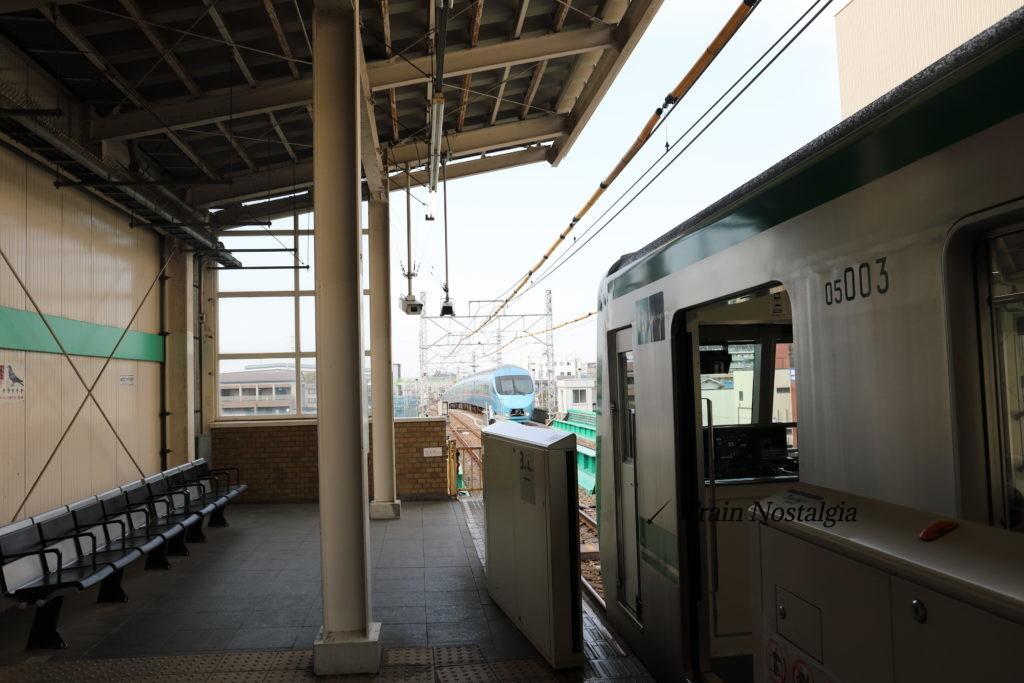 千代田線北綾瀬駅終端方向