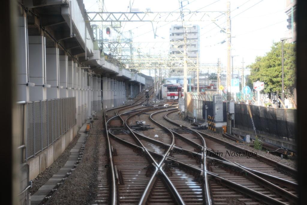 京急大師線京急川崎駅小島新田方面前面展望