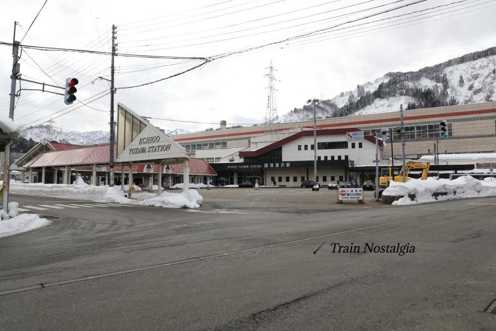 上越線越後湯沢駅駅舎
