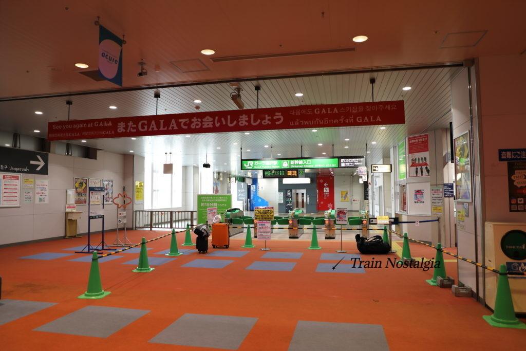 上越新幹線ガーラ湯沢駅改札口