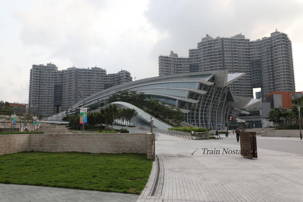 香港西九龍駅舎