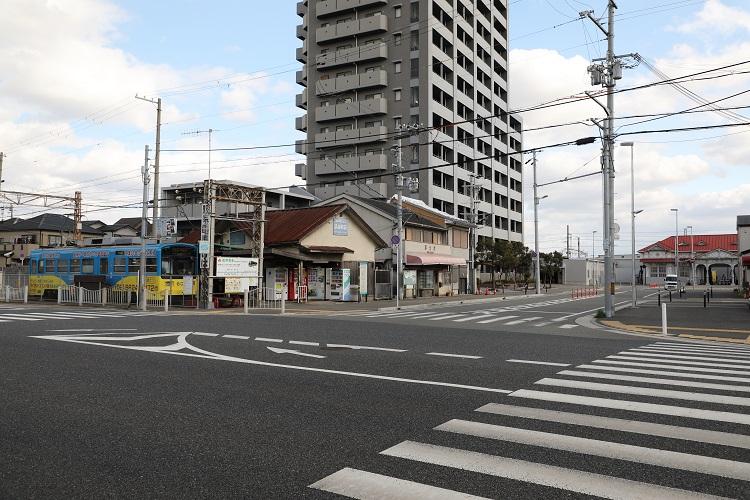 浜寺駅前と浜寺公園駅
