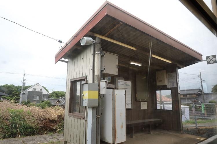 小野田線浜河内駅駅舎