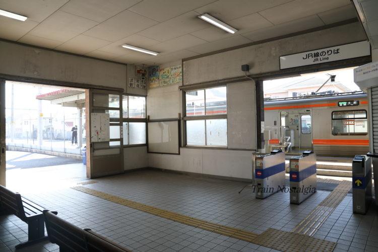 武豊駅駅舎内部
