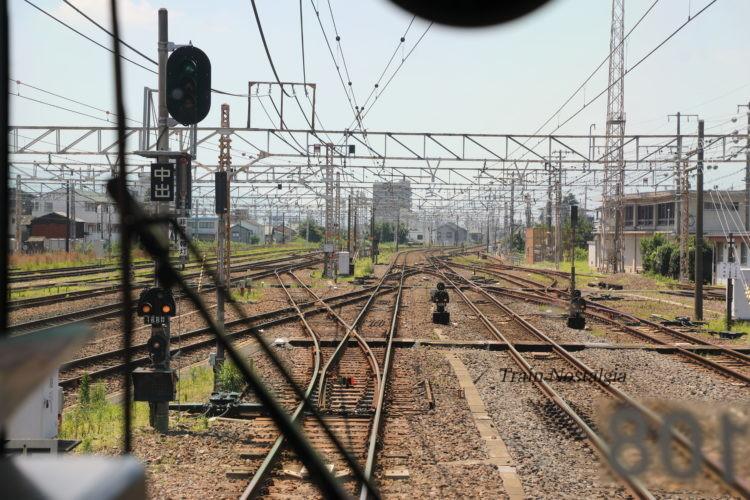 東海道本線大垣駅米原方面出発前面