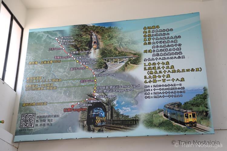 台鉄南廻線路線図