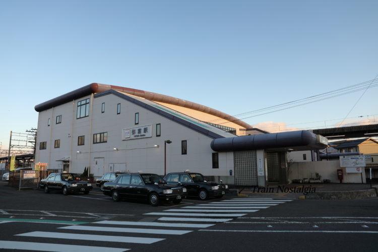 近鉄弥富駅駅舎
