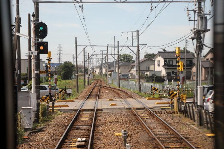 名鉄尾西線佐屋駅から弥富方面