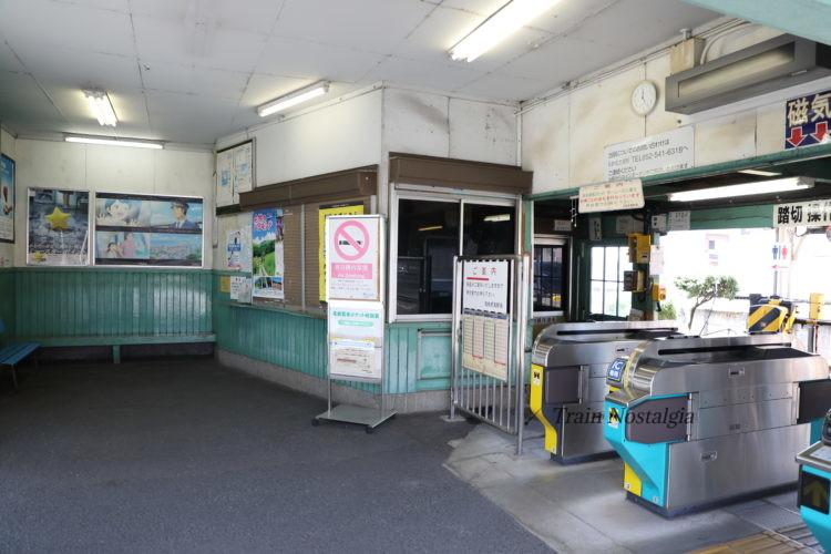 名鉄西枇杷島駅駅舎内部