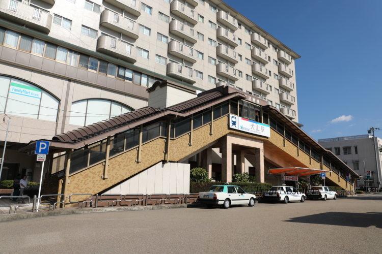 名鉄犬山駅駅舎